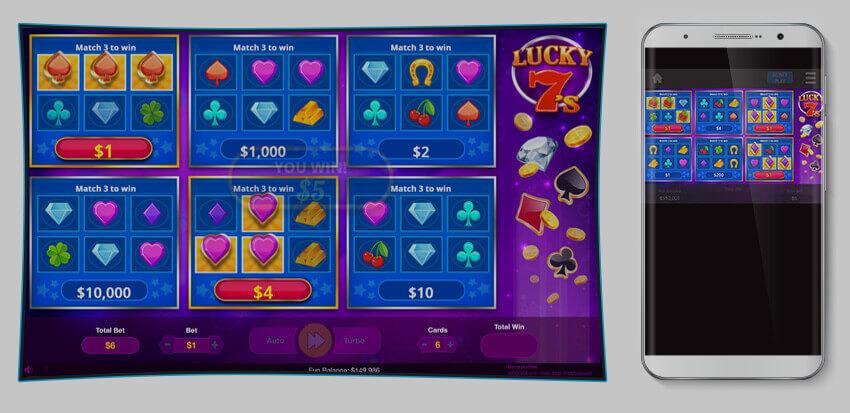 Lucky 7's Scratch