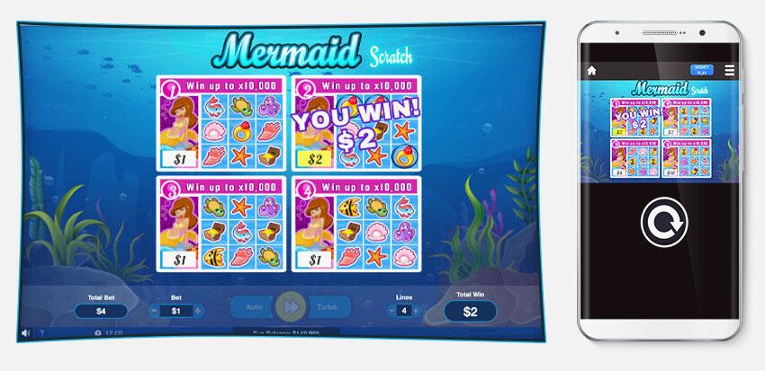 Mermaid Scratch